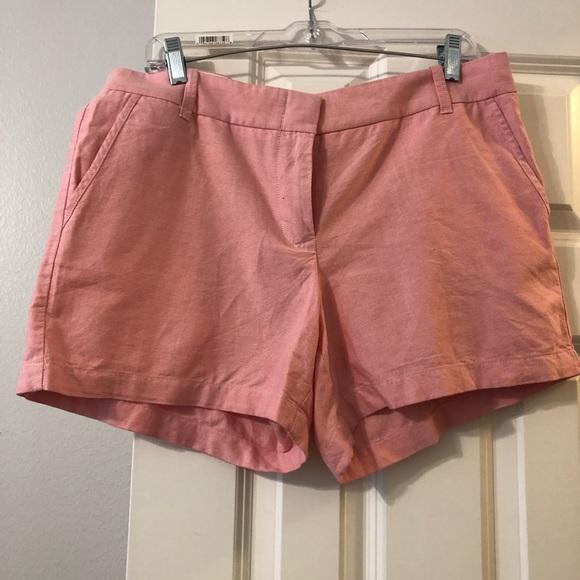 J. Crew Pants - Salmon colored J Crew shorts